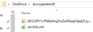 ThunderbirdPortable appears encrypted in your cloud storage directory!